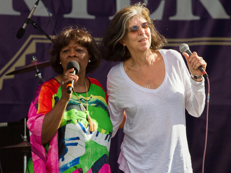 Marcia Ball joins Irma on stage