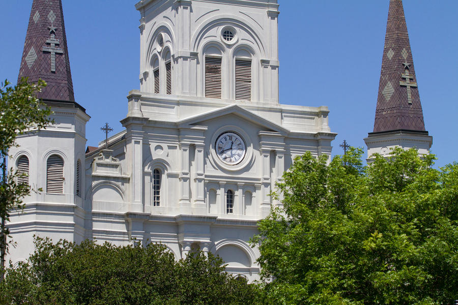 St. Louis Cathedral Clock