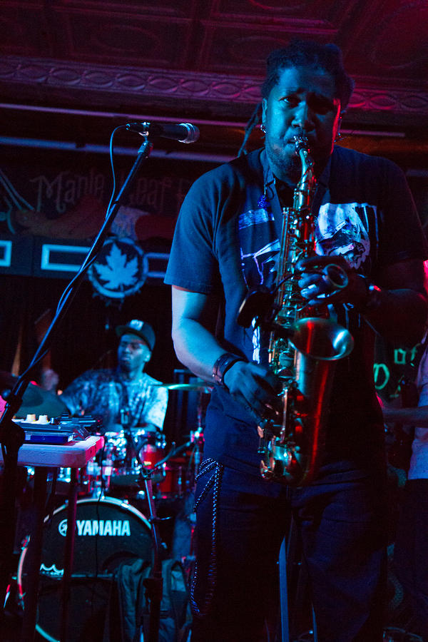 Khris Royal on sax