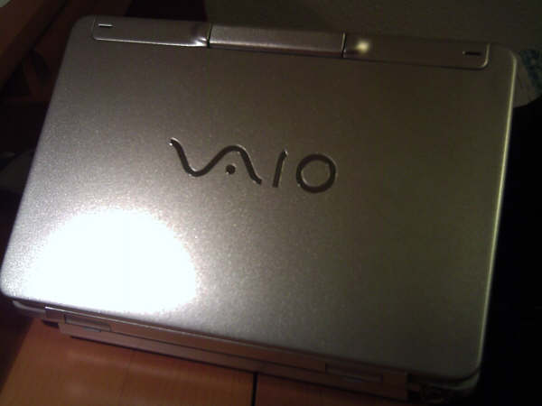 Sony Vaio TR - Repainted 2