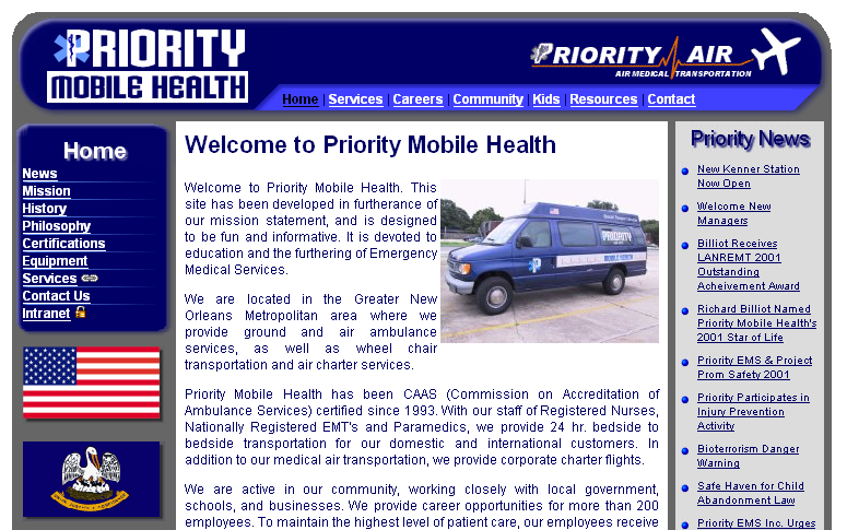 Priority Mobile Health