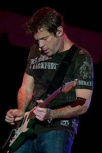 Keith Howland on guitar