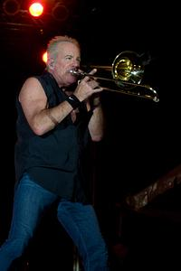 James Pankow on trombone