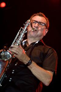 Larry Klimas on sax