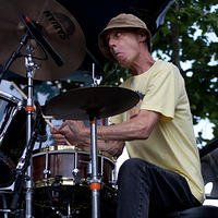 Johnny Vidacovich on drums