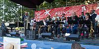 "Terrance ""Hollywood"" Taplin leads the Uptown Jazz Orchestra"