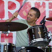 Troy Davis on drums