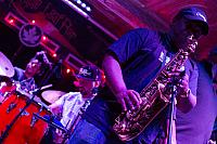 Gregory Thomas on saxophone