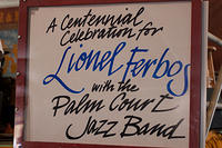 A Centennial Celebration for Lionel Ferbos with the Palm Court Jazz Band