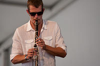 Gregory Agid on sax