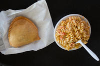 Crawfish Pie and Crawfish Monica