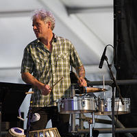 Mike Dillon on percussion