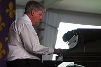John Royen on piano