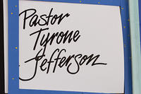 Pastor Tyrone Jefferson