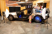 Team Fox Delorean