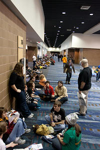 the line for Adam West & Burt Ward