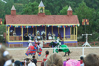 Jousting performance